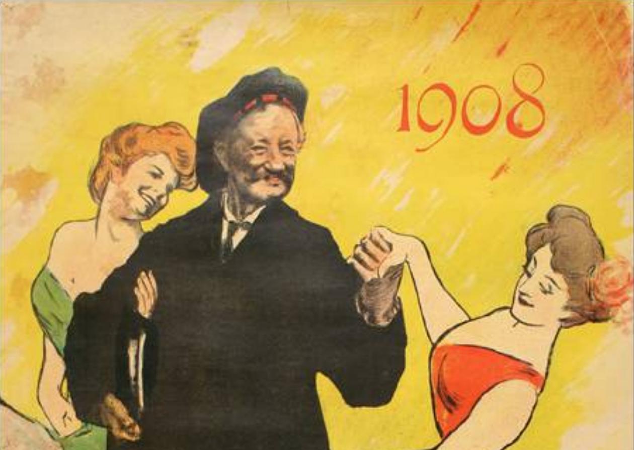 faluche 1900 bal des etudiants