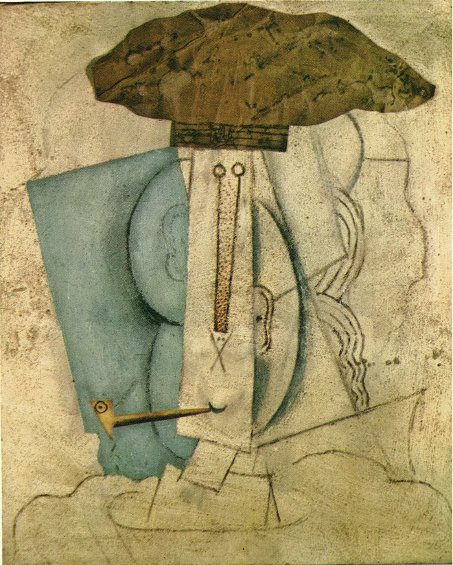 Etudiant à la pipe - faliuche - Pablo Picasso - 1914
