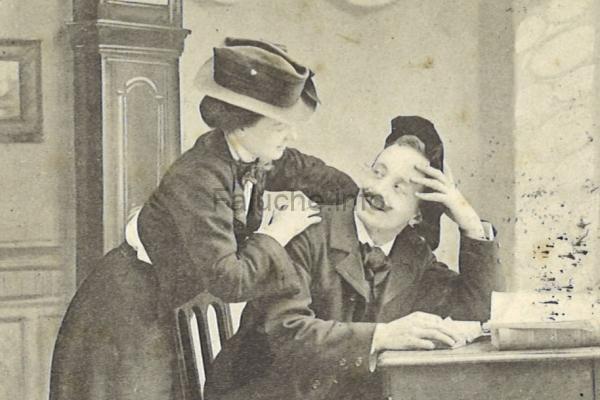 L'étudiant et sa Lisette